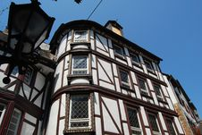 Free Half-timbered Houses Mosel Stock Image - 32974451