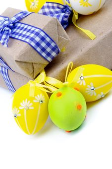 Free Easter Gifts Royalty Free Stock Image - 32976246