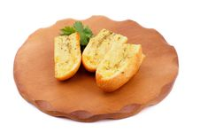 Free Garlic And Herb Bread Royalty Free Stock Photography - 32976267