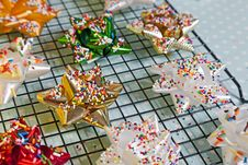 Free Sprinkled Bows Royalty Free Stock Photography - 32977287