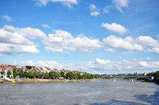 Bridge In Basel Royalty Free Stock Photos