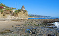 Free South End Of Shaws Cove, Laguna Beach.California. Royalty Free Stock Photo - 32980945