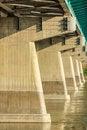 Free Concrete Trusses Of A Bridge Stock Photography - 32985112