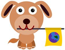 Dog S Peace Stock Image