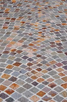 Free Colorful Brick Cobblestone Squares Background Royalty Free Stock Photo - 32981465