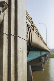 Free Dienfenbaker Bridge In Prince Albert Stock Image - 32984881