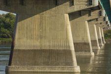 Free Dienfenbaker Bridge In Prince Albert Stock Image - 32985061