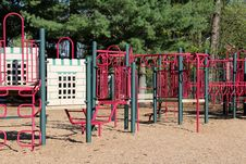 Free Modern Playground Made With Colorful Piping Stock Photos - 32986953
