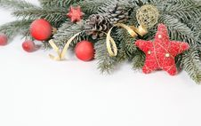 Free Christmas Decoration Royalty Free Stock Photo - 32987045