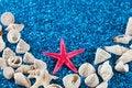 Free Star-fish And Seashells On Sand Stock Photos - 32997453