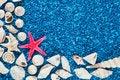 Free Star-fish And Seashells On Sand Stock Photos - 32997473