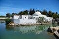Free Traditional Arabic House In Tunisia, Lake Carthage Royalty Free Stock Photo - 32997975