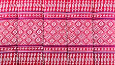 Free Elegant Sarong Pattern In Thailand Stock Images - 32992894