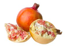 Free Pomegranate Royalty Free Stock Photography - 32992897