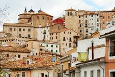 Free Roofs Of Cuenca. Stock Photo - 32993940