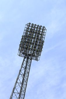 Free Stadium Lights Tower Stock Photography - 32995892