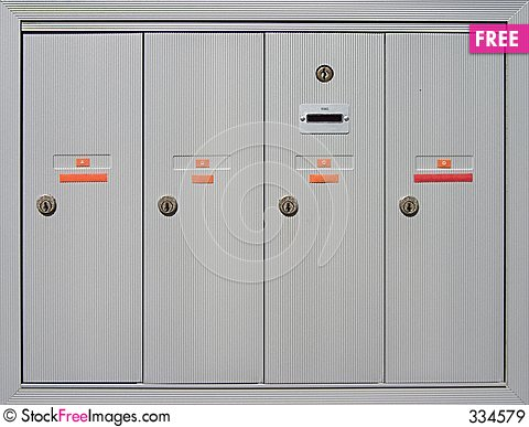 Apartment Mailboxes - Free Stock Images & Photos - 334579 ...