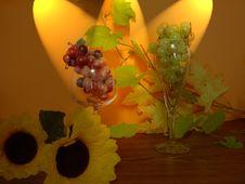 Free Grapes In Scene Stock Image - 330051