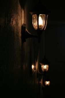 Free Old Lights Royalty Free Stock Image - 332386