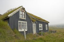 Free Icelandic Old House Royalty Free Stock Photography - 333237