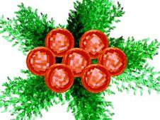 3D - Christmas Decoration Stock Photos