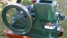 Free Running Vintage Engine Royalty Free Stock Image - 333966