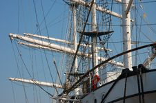 Free Windjammer Royal Mast Royalty Free Stock Photography - 334137