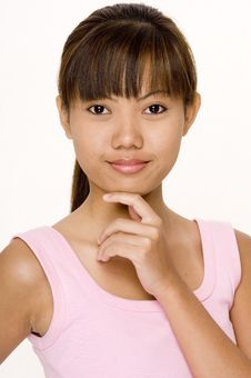 Free Asian In Pink 12 Royalty Free Stock Images - 335029