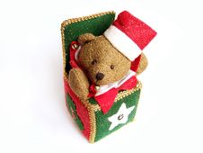Free X-mass Bear Stock Photography - 335992