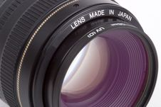 50mm SLR Lens Stock Image