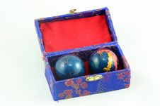Free Box With Stressballs Stock Photography - 339342
