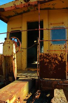 Free Old Caboose Stock Image - 339641