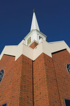Free Tall Church Steeple Stock Photo - 339670
