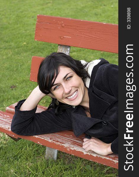 Park Bench Woman