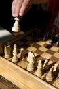 Free Child Playing Chess Stock Image - 3300731
