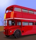 Free Double Decker Bus Royalty Free Stock Photo - 3303085