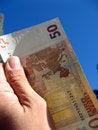 Free Fifty Euros Stock Image - 3305071