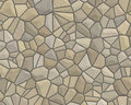 Free Stone Wall Pattern Tan Grey Stock Images - 3306074
