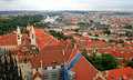 Free The Aerial View Of Prague Stock Photo - 3309390