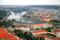 Free The Aerial View Of Prague Royalty Free Stock Photo - 3309395