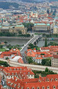 Free The Aerial View Of Prague Royalty Free Stock Photography - 3309627