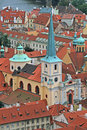 Free The Aerial View Of Prague Royalty Free Stock Photography - 3309707