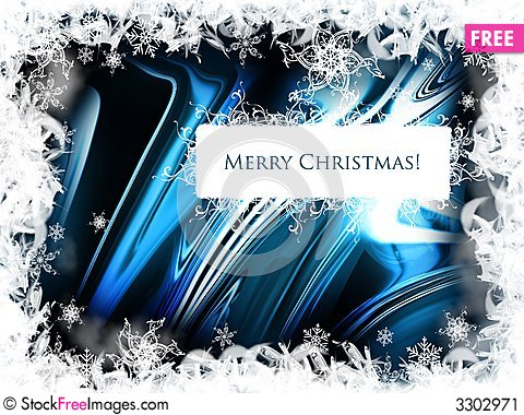 Free Christmas Background Stock Image - 3302971