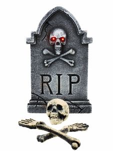 Free Tombstone And Bones Royalty Free Stock Photo - 3300665