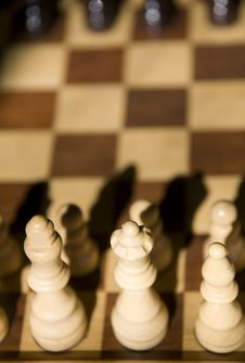 Free Chess Set Royalty Free Stock Photo - 3300695