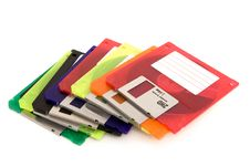 Free Floppy Discs Royalty Free Stock Image - 3301156
