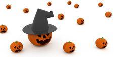 Free Halloween Pumpkins Stock Photos - 3302133