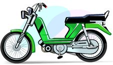 Free Moped, Stock Photography - 3302982