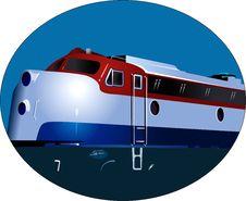 Free Train's Engine Stock Image - 3303041