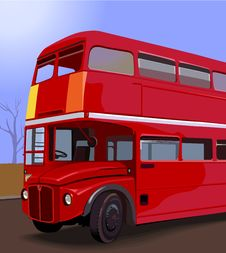 Free Double Decker Bus Royalty Free Stock Photo - 3303085